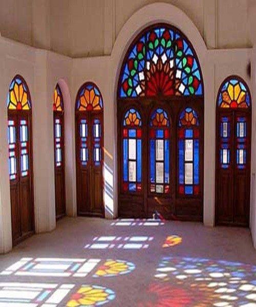 معماری سنتی خانه های قدیمی ایرانی اینگونه بود + تصاویر