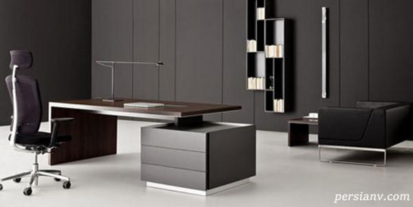 میز منشی مدرن و خلاقانه و فوق العاده زیبا