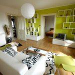 با اتاق خوابی به رنگ سبز یاد جنگلها را در خانه خود زنده نمائید + تصاویر