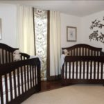 دکوراسیون جالب و بامزه اتاق خواب دوقلوهای نوزاد