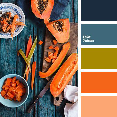 رنگ های پاییزی در دکوراسیون