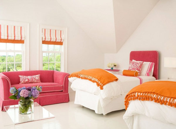 ترکیب رنگ پاییزی خانه