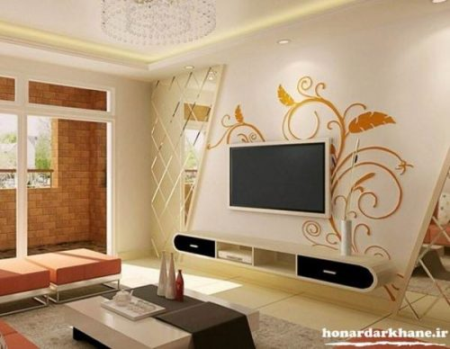 تزئین دیوارهای اتاق