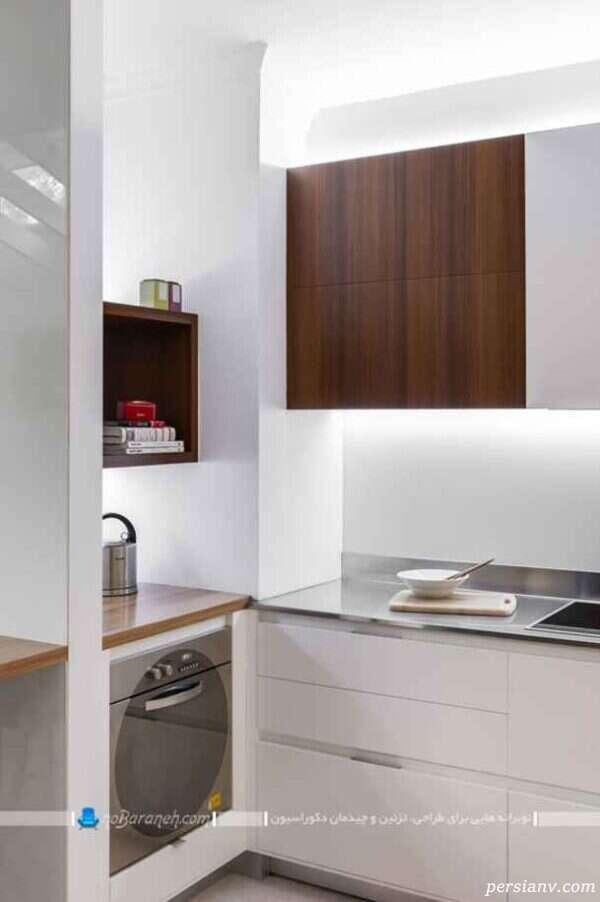 دکوراسیون آشپزخانه و اتاق کاری