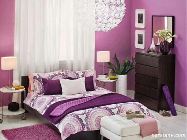 بهترین رنگ ها برای ساختن دکوراسیون اتاق خواب رویایی