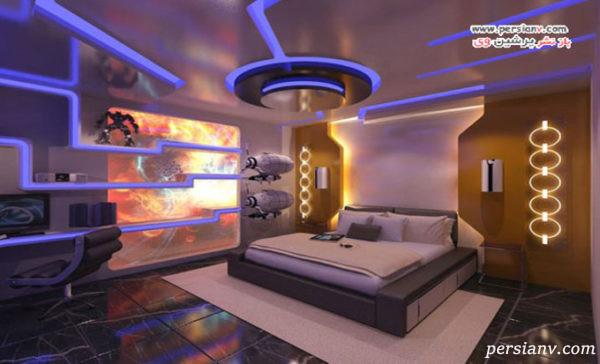 اتاق خواب مدرن که دکوراسیون آنها هوش از سرتان می پراند!