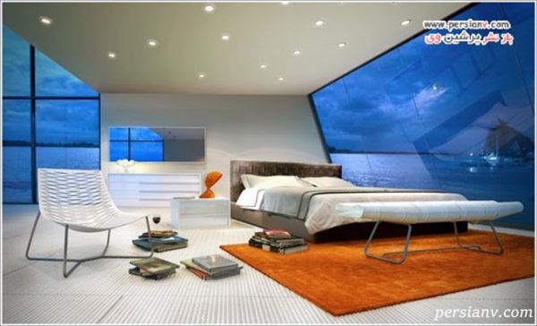 اتاق خواب مدرن و جدید