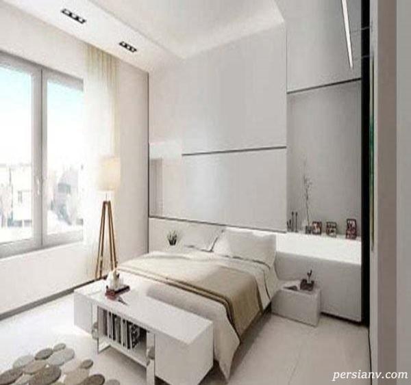 اتاق خواب های مینیمال