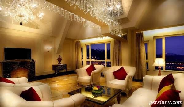 اتاق پذیرایی کلاسیک