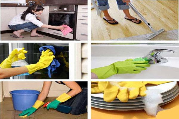 برای تمیز کردن خانه از کجا شروع کنیم با این ترفندهای ساده