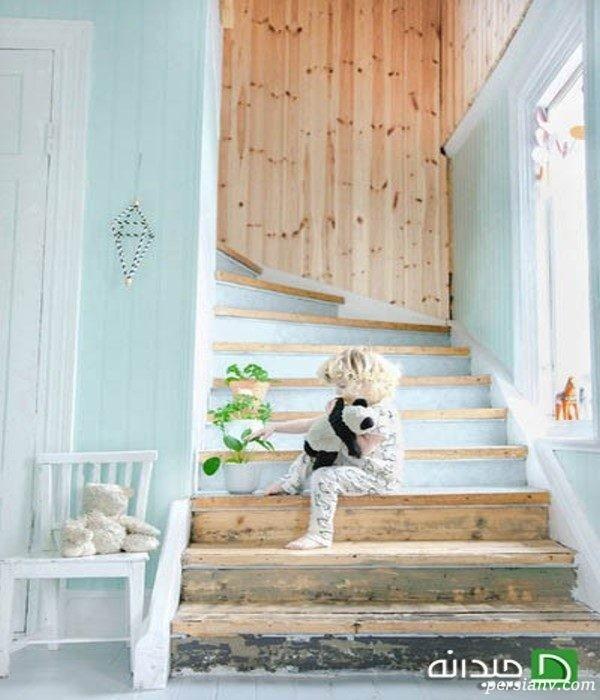 تزیین پله خانه