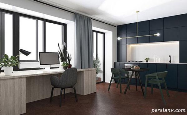 دکوراسیون آپارتمان کوچک و مدرن