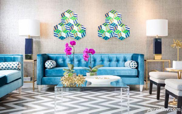 رنگهای دکوراسیون منزل