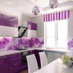 دکوراسیون خاص و چشم گیر با ترکیب رنگ جسورانه بنفش درخانه