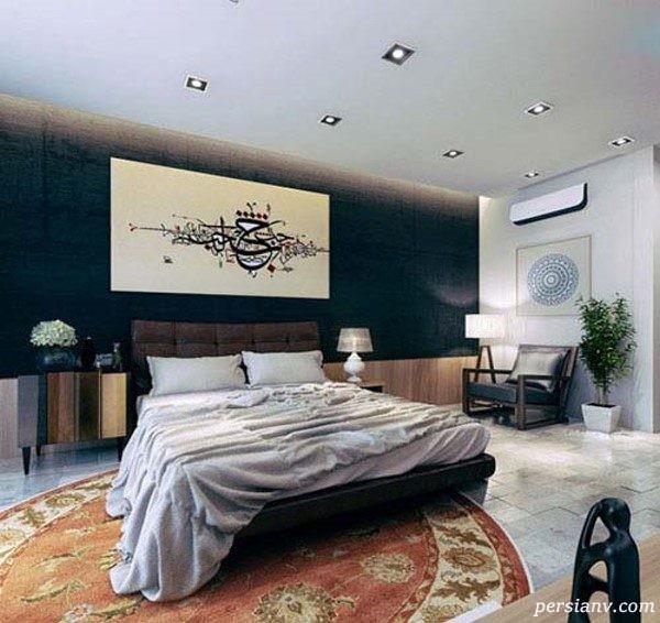 طراحی اتاق خواب مدرن
