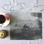 طراحی زیبا و خلاقانه وسایل دکوراسیون یک بانوی هنرمند ایرانی