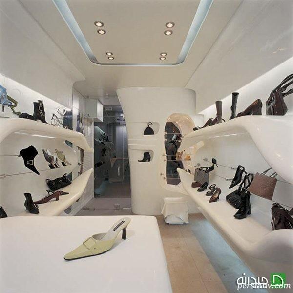طراحی گالری کفش
