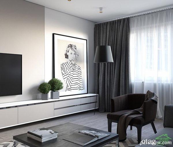 چیدمان داخلی آپارتمان کوچک