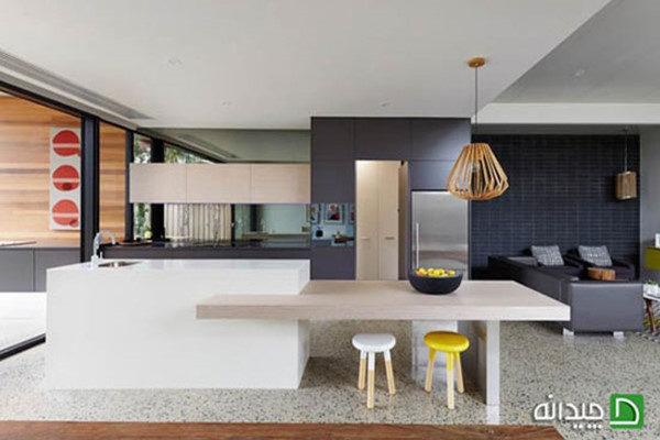 آشپزخانه شیک و مدرن