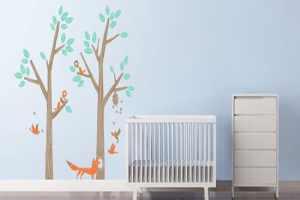 اتاق کودک مدرن خود را با ایده تم جنگل طراحی کنید+تصاویر
