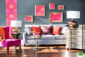 استفاده از رنگ های خاص در دکوراسیون خانه + تصاویر