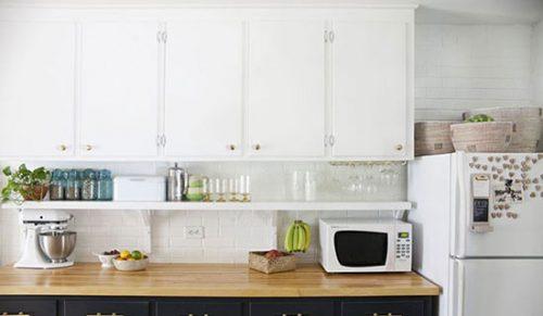 دکوراسون آشپزخانه شیک خود را با وسایل ساده و کم هزینه جذاب کنید+تصاویر