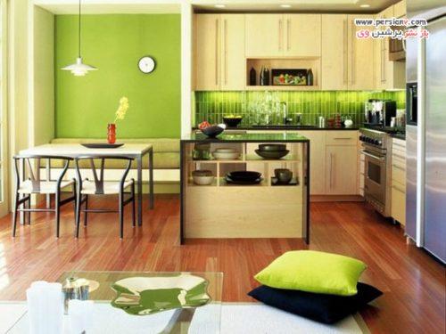 دکوراسیون آشپزخانه های زیبا