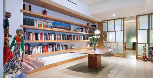 دکوراسیون خانه کایرا نایتلی
