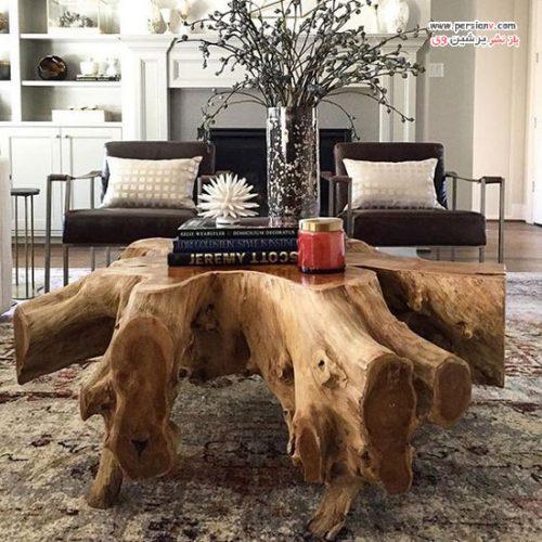 مدل های میز پذیرایی چوبی