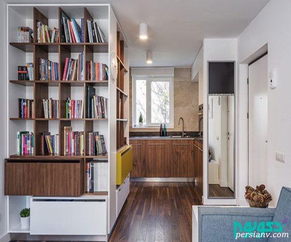 چیدمان داخلی خانه کوچک