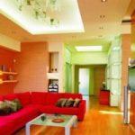اتاق نشیمنی با رنگهای شاد و پرطراوت داشته باشید+تصاویر
