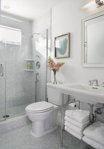 حمام و سرویس های بهداشتی کوچک