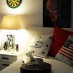دکوراسیون اتاق خواب پسرانه شیک و با انرژی +تصاویر