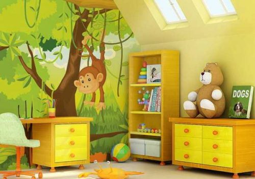 دکوراسیون اتاق کودک جدید و مدرن