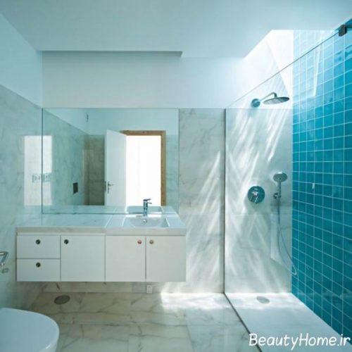 دکوراسیون خانه با تم آبی