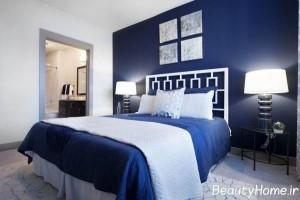 دکوراسیون خانه با تمی آبی رنگ، یک فضای خیال انگیز به وجود می آورد+تصاویر