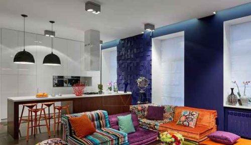 دکوراسیون کامل یک آپارتمان