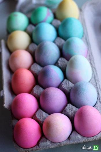 ایده هایی برای تخم مرغ رنگی