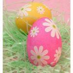 تزیین فانتزی تخم مرغ برای استفاده در چیدمان سفره عید + تصاویر