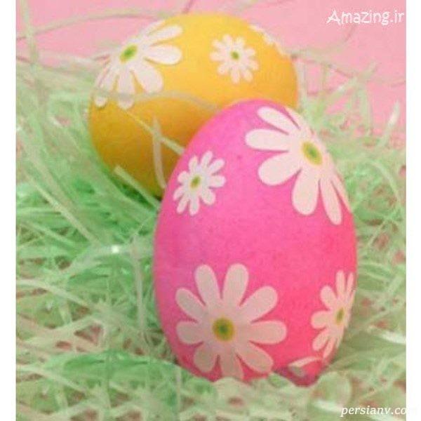 تزیین تخمه مرغ سفره هفت سین