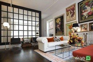 دیوارهای آینه ای زینت بخش خانه شما + تصاویر