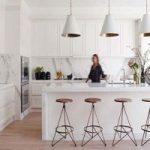 دکوراسیون آشپزخانه مدرن را با رنگ سفید بسازید+تصاویر