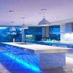نورپردازی آشپزخانه با چراغهای LEDبسیار زیبا و جذاب + تصاویر