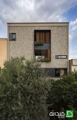 دکوراسیون نمای بیرونی ساختمان
