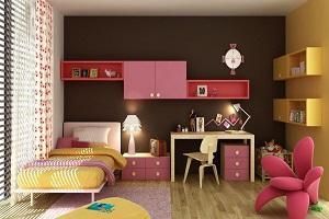 طراحی شیک و کاربردی اتاق خواب دخترانه کودک و نوجوان+تصاویر