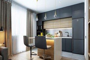 مناسب ترین پرده برای دکوراسیون آشپزخانه شما+تصاویر