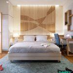 برای دیوار اتاق خوابتان، از این طرح ها استفاده کنید + تصاویر