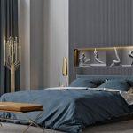 مدرن ترین ایده ها برای طراحی دیوار بالای تخت اتاق خواب خود داشته باشید+تصاویر