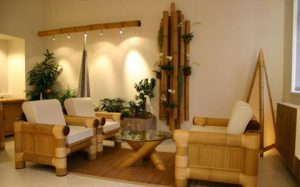تزیین اتاق با بامبو