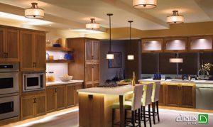 نورپردازی آشپزخانه و غذاخوری